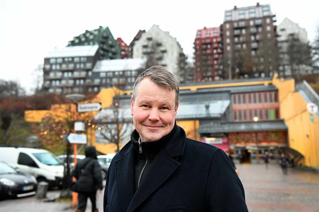 Johan Löfstand, gruppledare i civilutskottet (S).