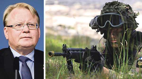 Positionen i förhållande till Nato är tydlig: Samarbete ja! Medlemskap nej!, skriver debattören.