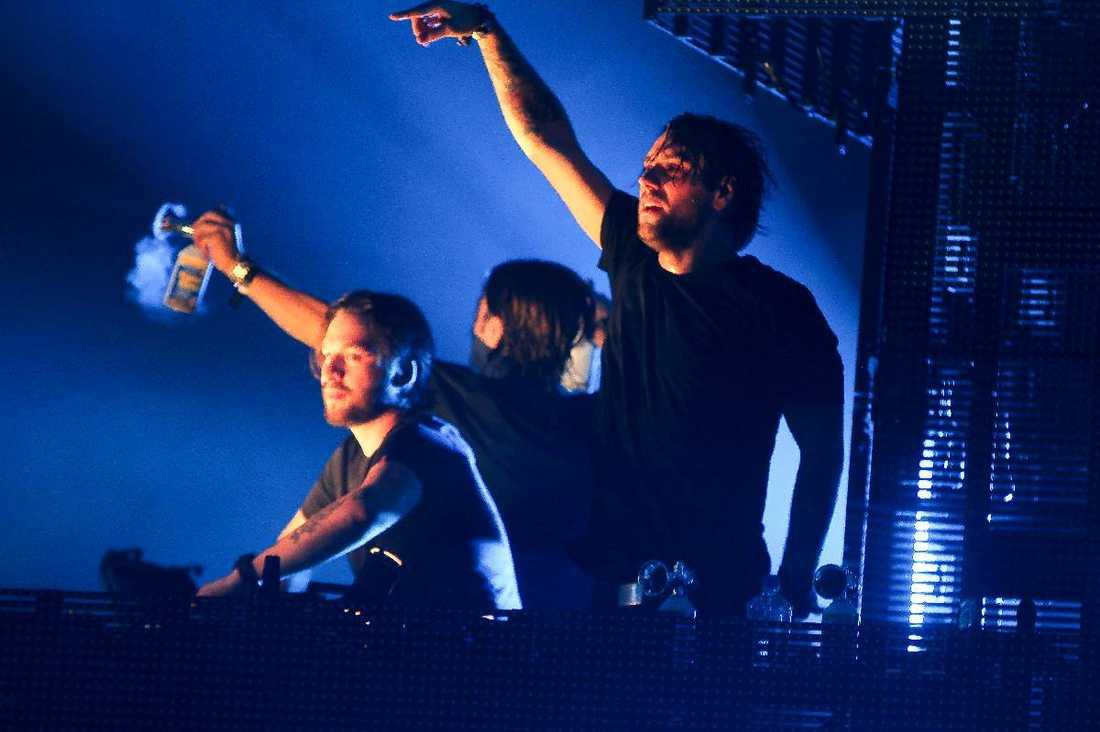 Satsar på solokarriärer Steve Angello, Axwell och Sebastian Ingrosso går separata vägar efter att ha nått toppen, med konserter som den här i Miami. Foto