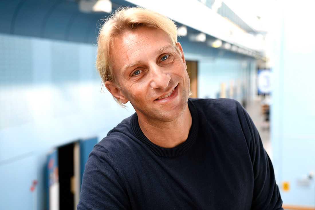 """Anders Hansen, aktuell med SVT-programmet """"Din hjärna"""", uppskattar projektet."""