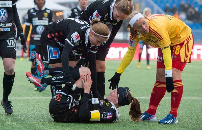 Det var i premiären i fjol som Umeåkaptenen Emma Berglund slet av korsbandet.