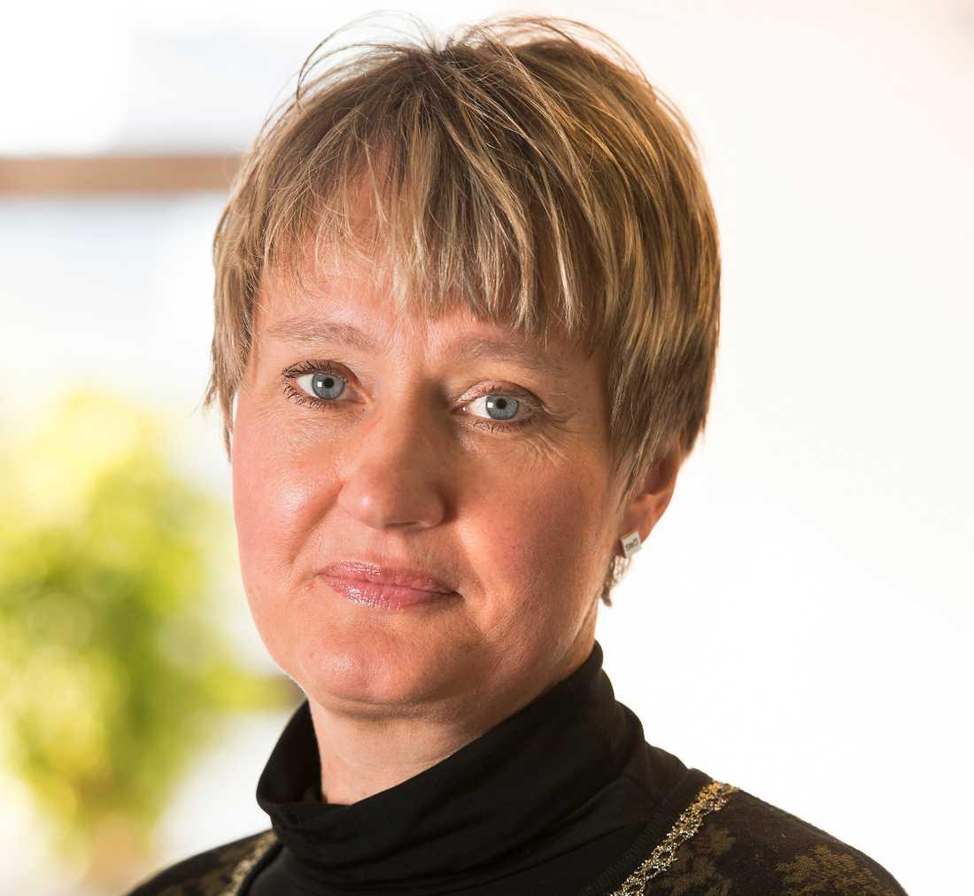 Kajsa Wahlberg, nationell rapportör för människohandel hos polisen.