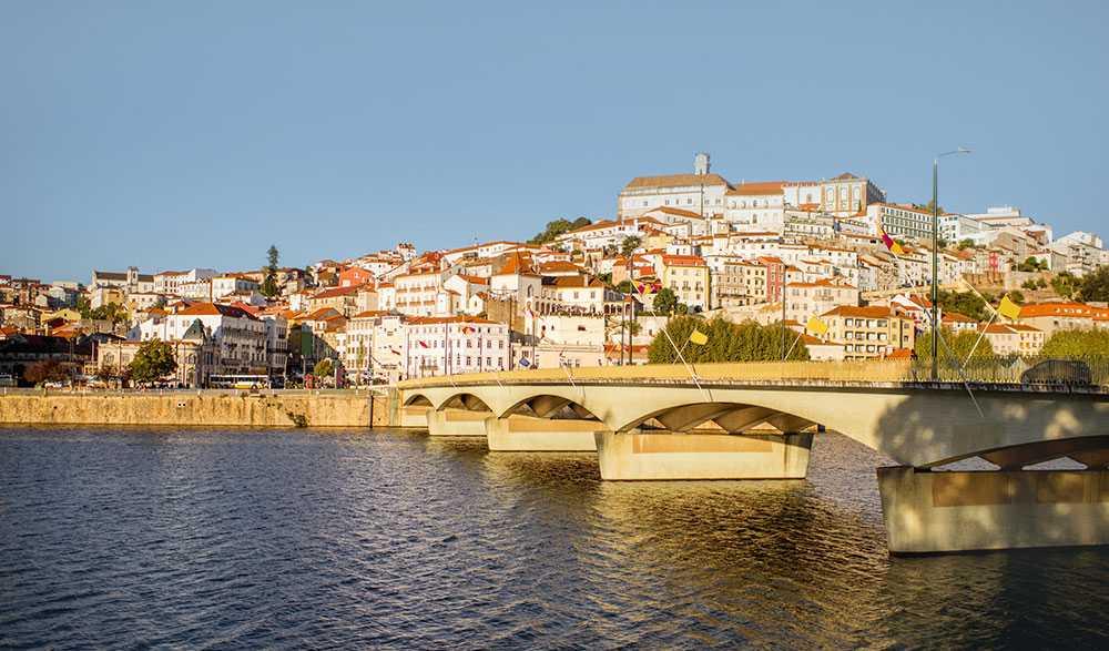 Coimbra är ett kulturellt centrum och universitetsstad.