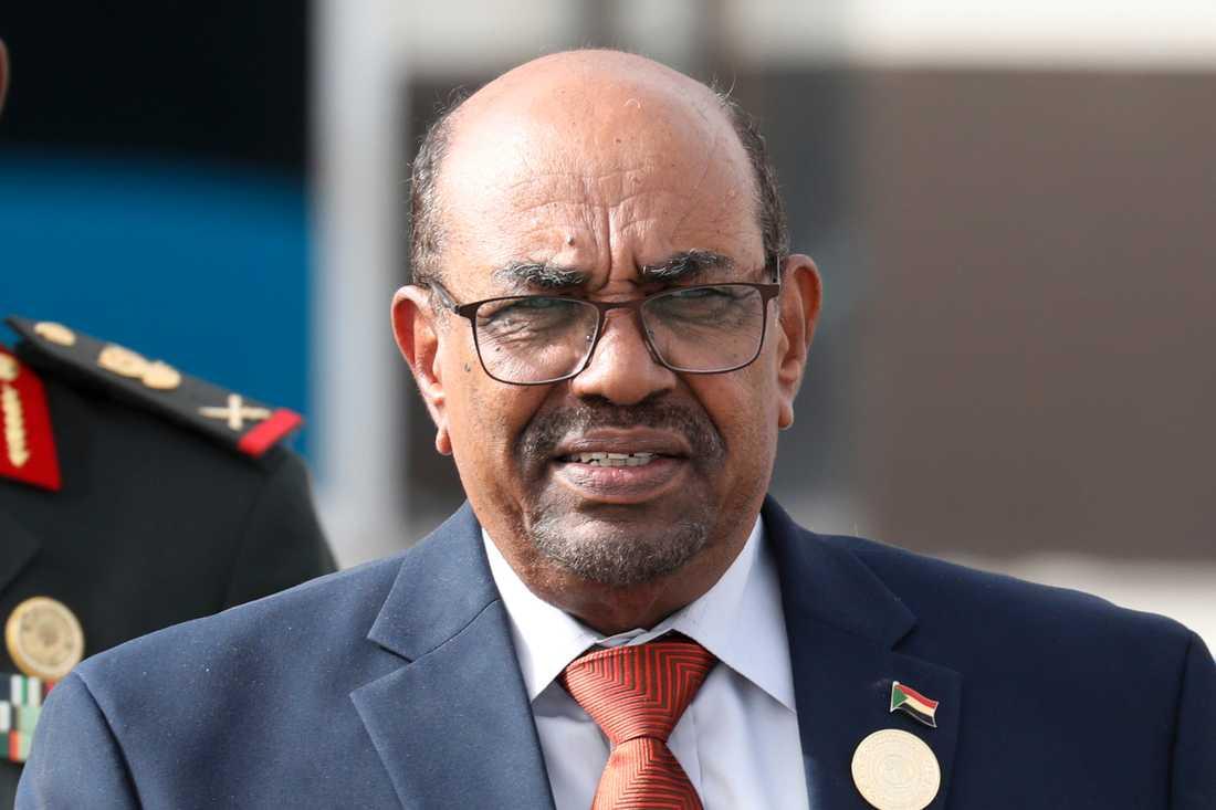 Sudans tidigare diktator Omar al-Bashir. Arkivbild.