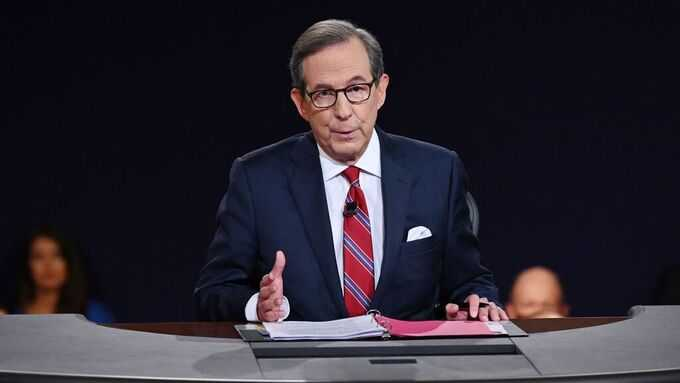 Fox News moderator Chris Wallace.