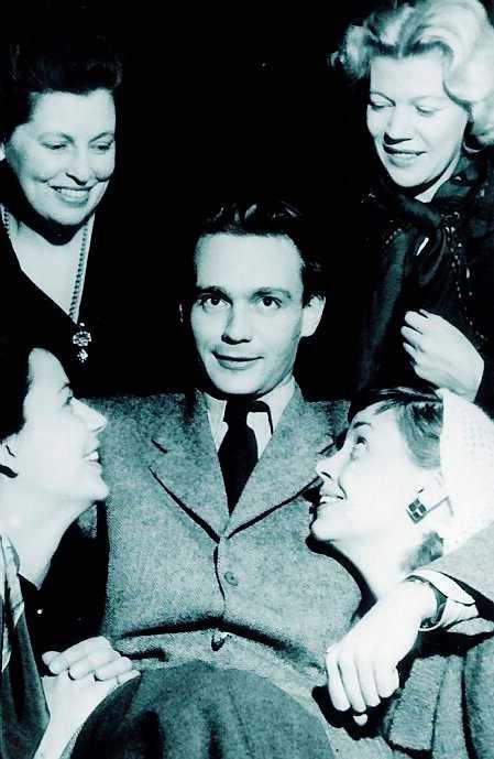 Stig Dagerman, ovan, och Albert Camus (nedan th).