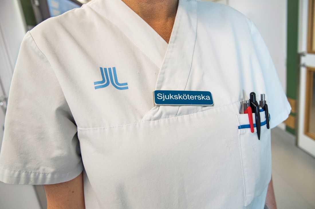 För den som vill bli sjuksköterska finns goda chanser till jobb. Arkivbild.