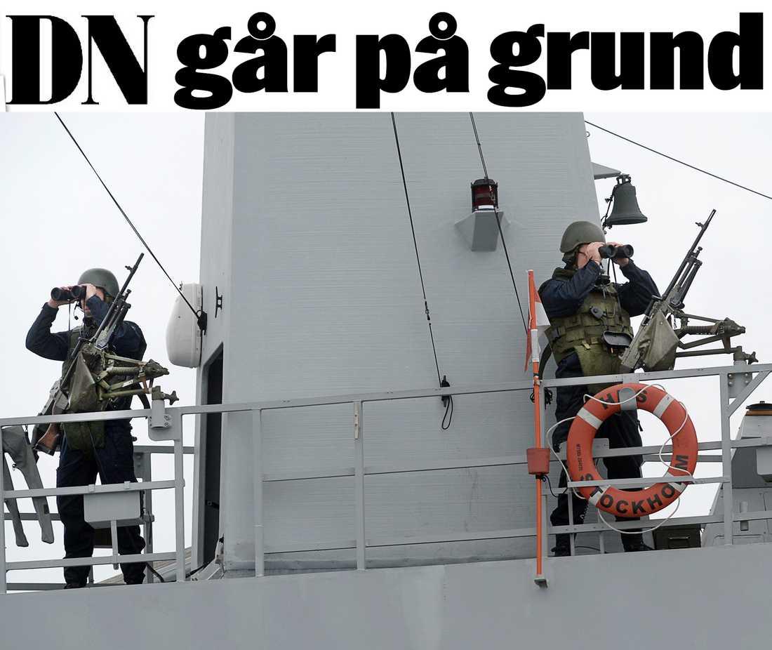 """UBÅTSJAKTEN Svensk militär spanar efter främmande ubåtar i Stockholms skärgård förra året. I januari därpå rapporterade Dagens Nyheter om ytterligare en ubåtsobservation. """"Ett ogenomtänkt publiceringsbeslut"""", skriver Mattias Göransson."""
