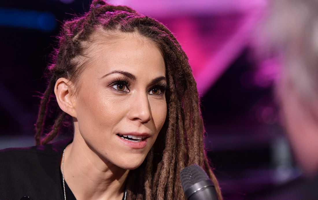 Mariette tävlar för andra gången i Melodifestivalen.