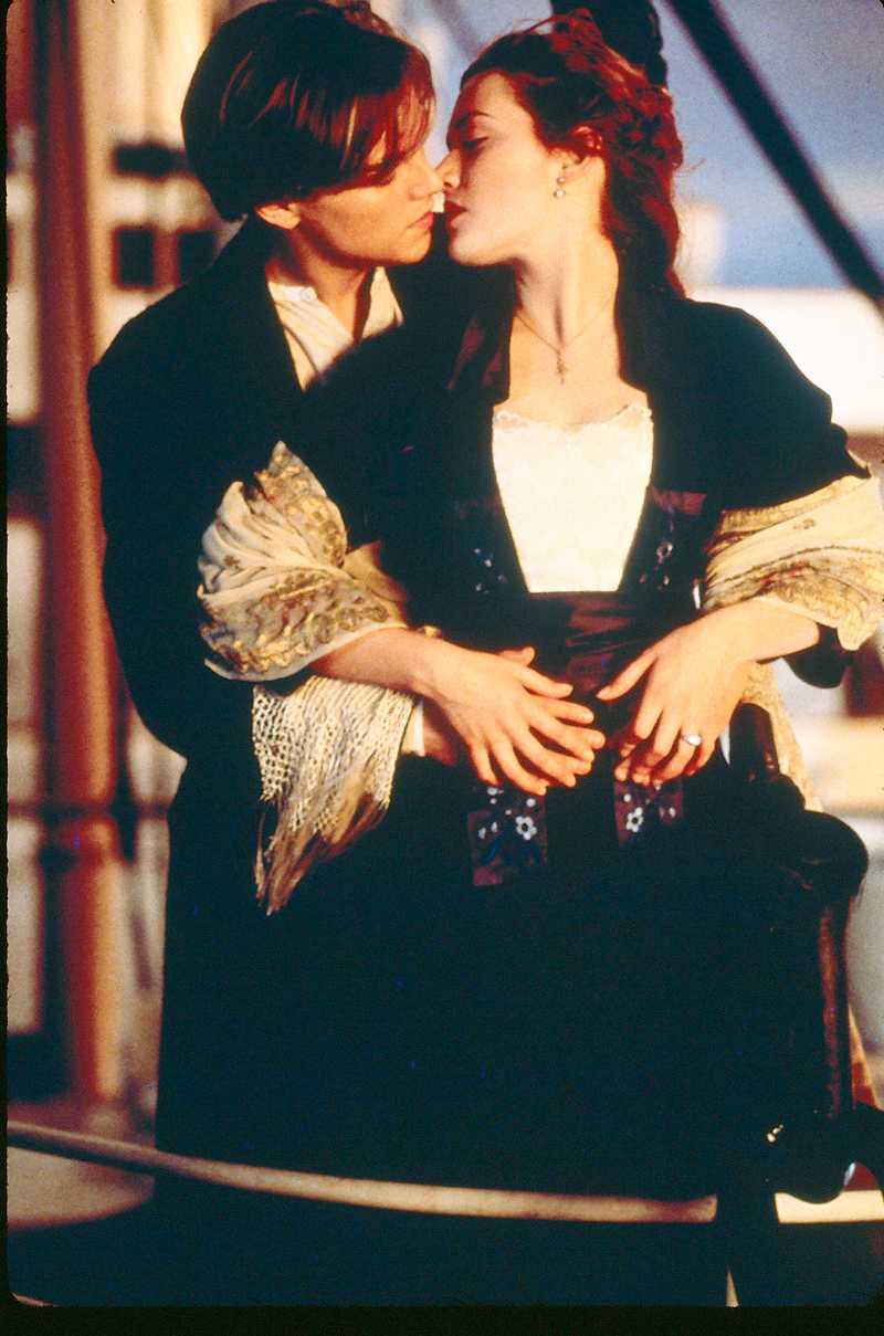 "3. Leonardo DiCaprio och Kate Winslet i ""Titanic"""