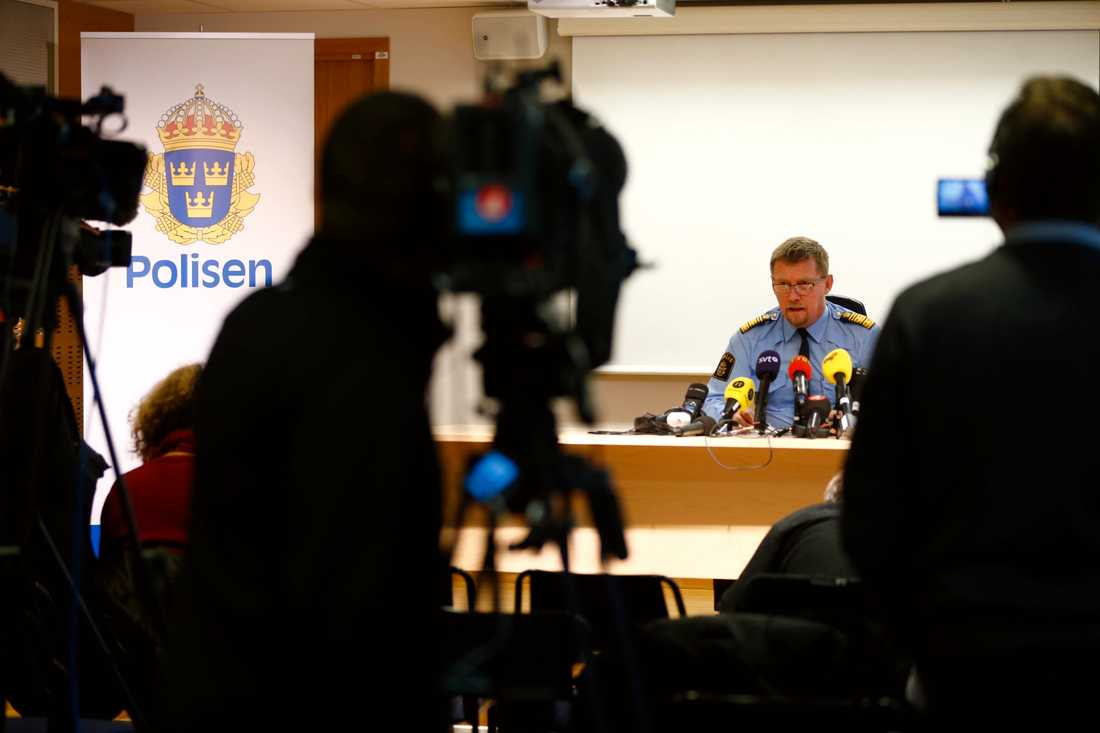 Presskonferens Göteborg