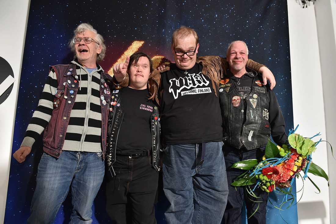 Pertti Kurikan Nimipäivät bildades på en workshop för personer med funktionsnedsättning 2009.