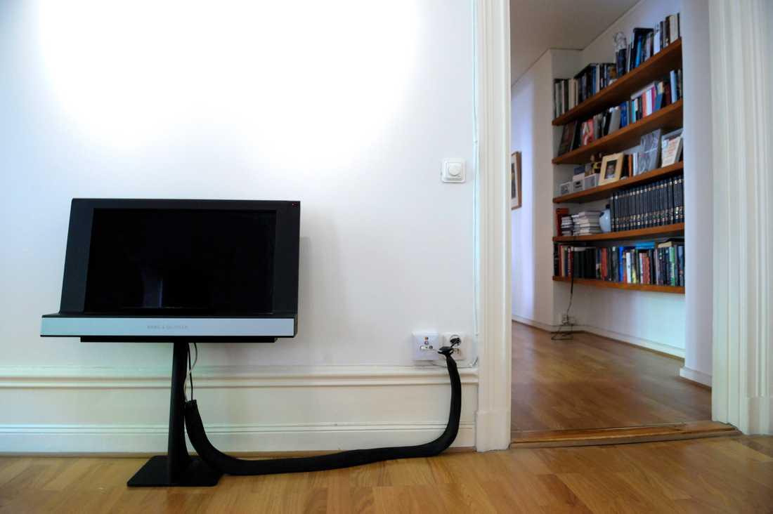 En tv-apparat från Bang & Olufsen. Arkivbild