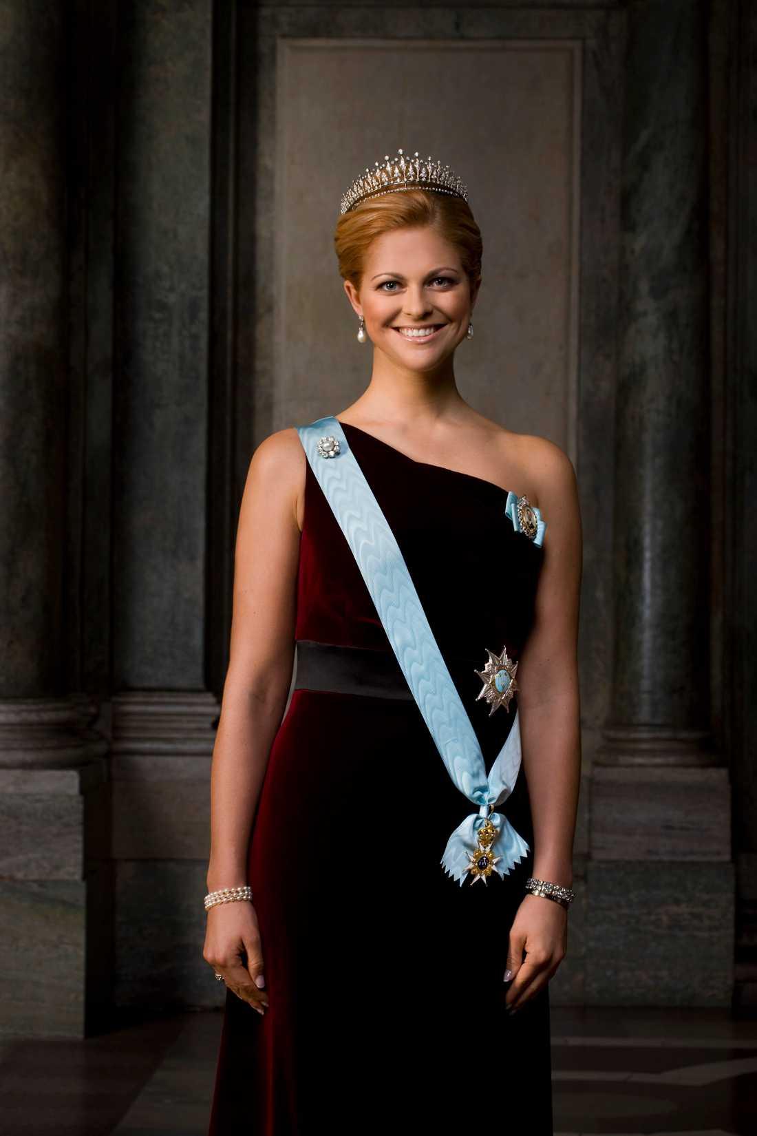 Hennes kungliga höghet Madeleine Thérèse Amelie Josephine, Prinsessa av Sverige och Hertiginna av Hälsingland och Gästrikland.