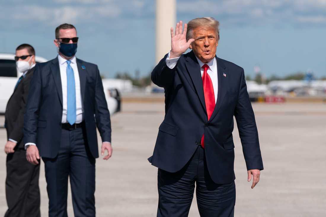 USA:s förre president Donald Trump.