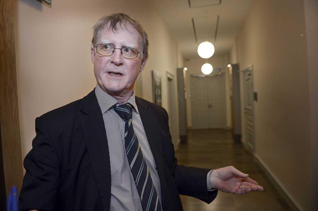 Nils-Eric Schultz, före detta åklagare.