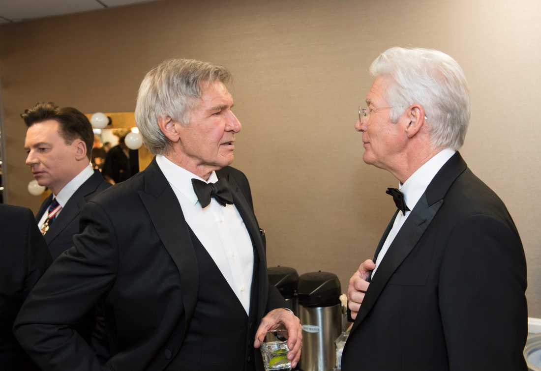 Harrison Ford och Richard Gere.