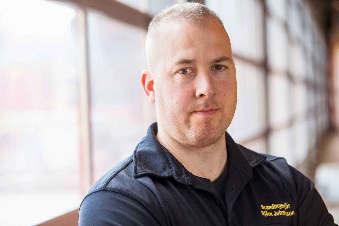 Björn Johansson, avdelningschef på räddningstjänsten Karlstadregionen.