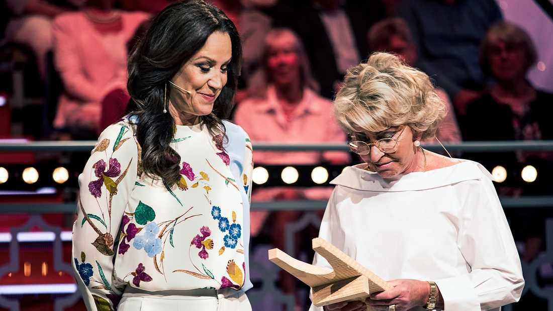 """Renée Nyberg och Karin Laserow i en tidigare säsong av """"Bytt är bytt""""."""