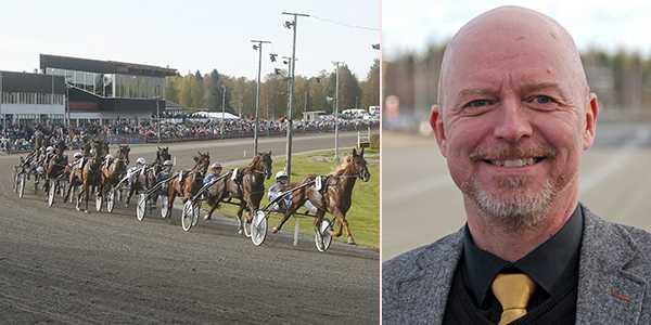Peter Fahlén, travbanechef på Solänget.