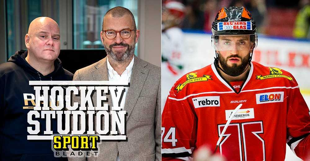 """Hockeystudion: """"Där hamnar stjärnbacken"""""""