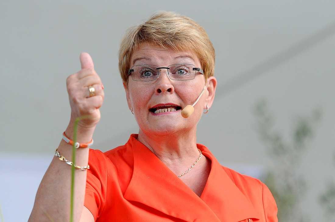 Tummen upp Maud Olofsson har inte ens slutat som partiledare än, men hon har redan landat ett nytt superjobb.