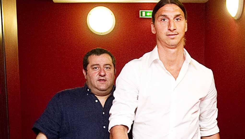 Mino Raiola har stjärnor som Zlatan Ibrahimovic och Paul Pogba i sitt stall.