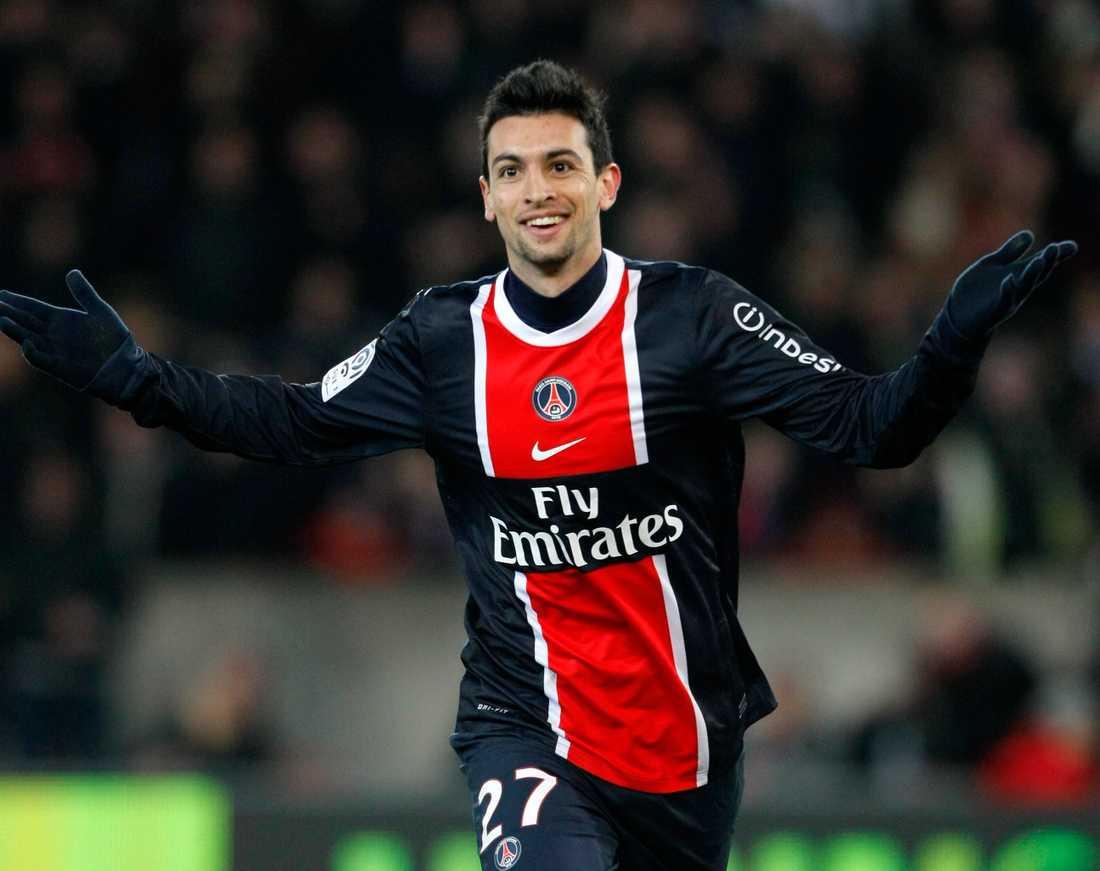 Gillar Zlatan. Javier Pastore, 22, spelar gärna ihop med Ibra i PSG.