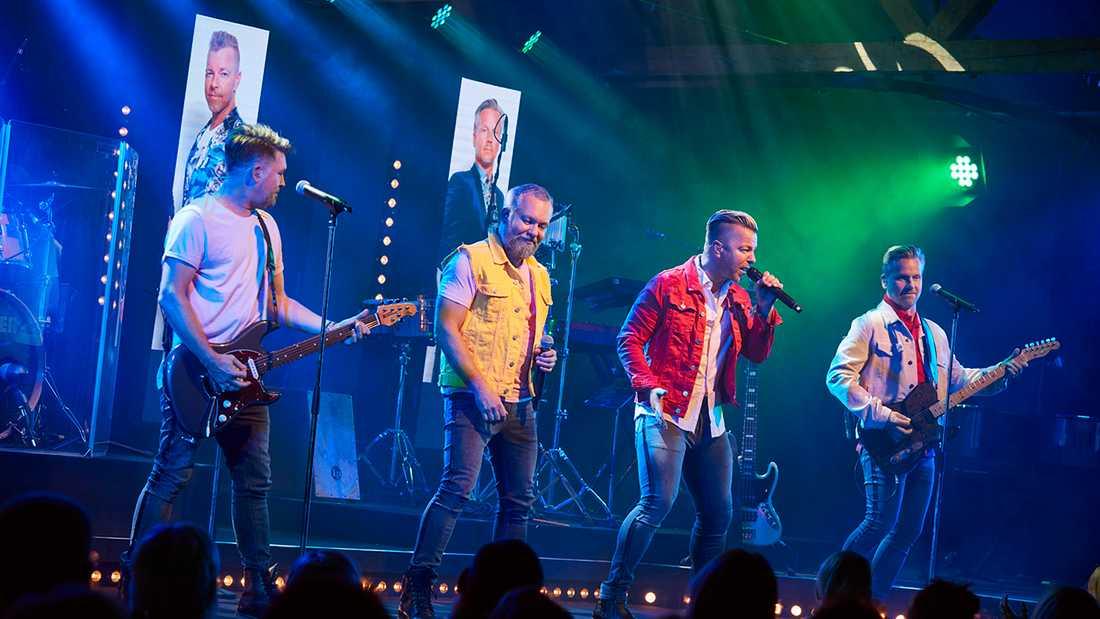 Arvingarnas krogshow på Kajskjul 8 i Göteborg.