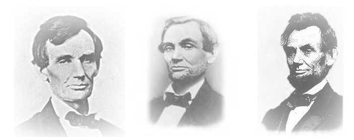 Lincolnskägget  Hösten 1860, valet var bara en månad bort. Abraham Lincoln fick ett brev från 11-årig flicka som uppmanade honom att skaffa skägg.  Lincoln lydde uppmaningen,  vann valet och ändrade historien. Tack skägget! http://rogerjnorton.com/Lincoln50.html
