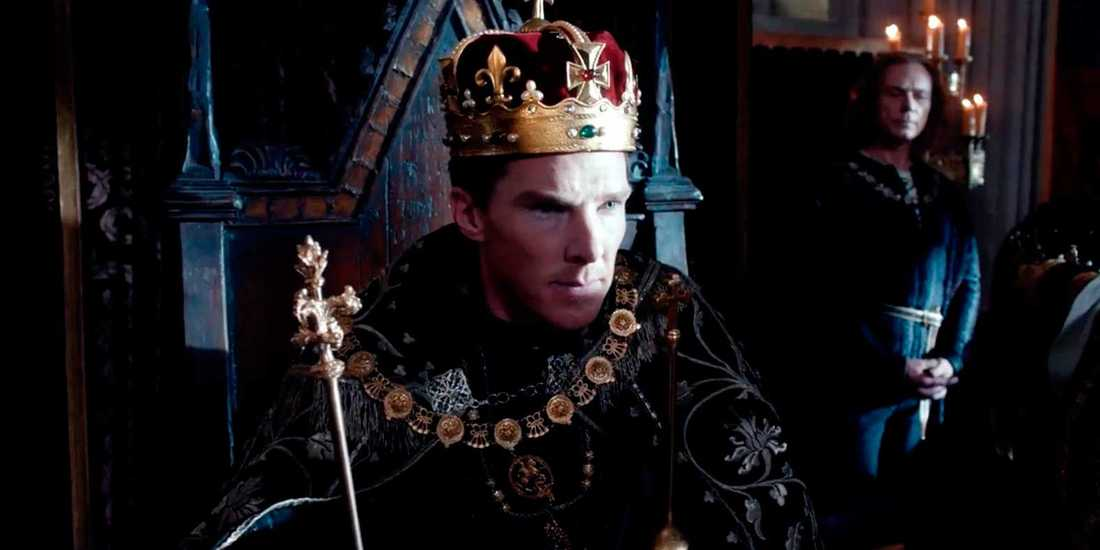 Benedict Cumberbatch som Richard III.