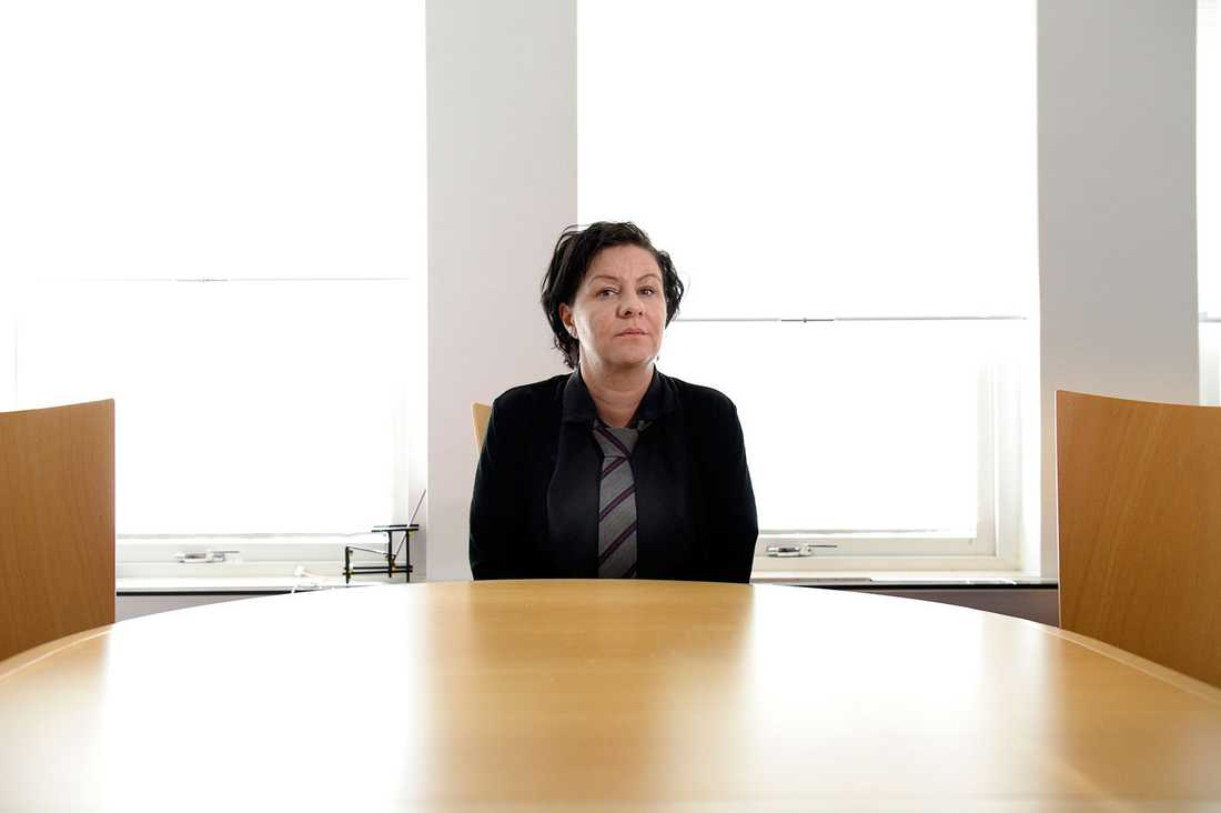 Nada Mladenovic, arbetsförmedlingschef i Karlskrona och Ronneby.