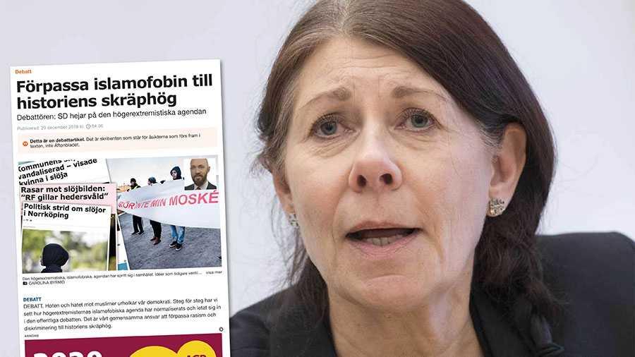 Vi måste kunna kritisera en religion som islam för en problematisk kvinnosyn, för hedersförtryck, för homofobi och för att införa sharialagar som en del av islams företrädare förespråkar, skriver Ulla Gustavsson.