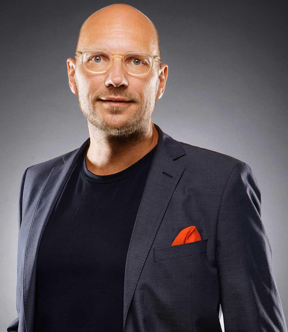 Ulf Skarin, chefredaktör för tidningen Veckans affärer.
