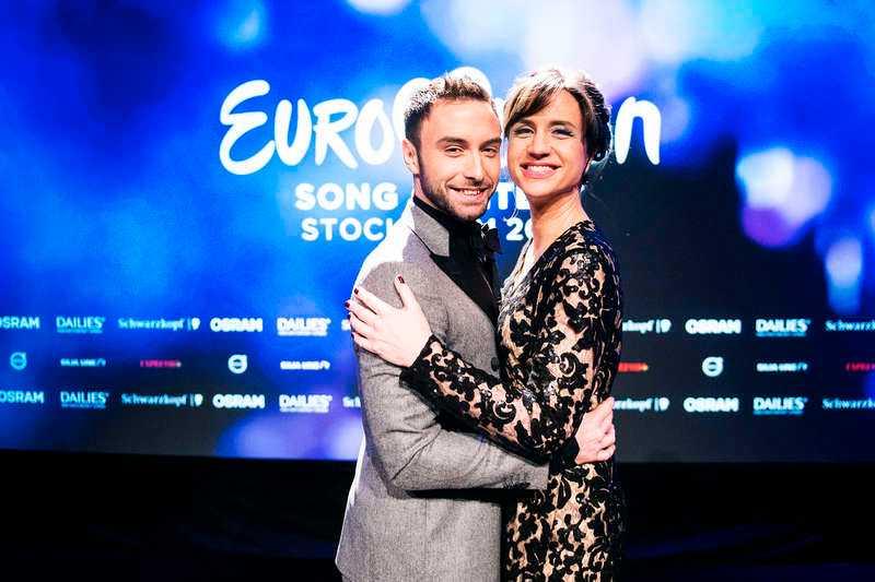 DE SKA LEDA SHOWEN Måns Zelmerlöw och Petra Mede är tänkta som programledare för Eurovision song contest som börjar den 14 maj.