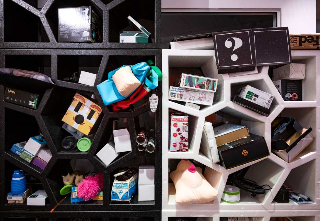 Coolstuff får in nya varor till lagret varje dag och har omkring 600 produkter i sitt sortiment.