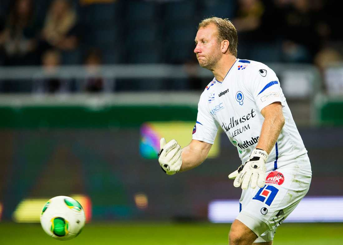 Henrik Gustavsson har spelat i Åtvid i 16 år.