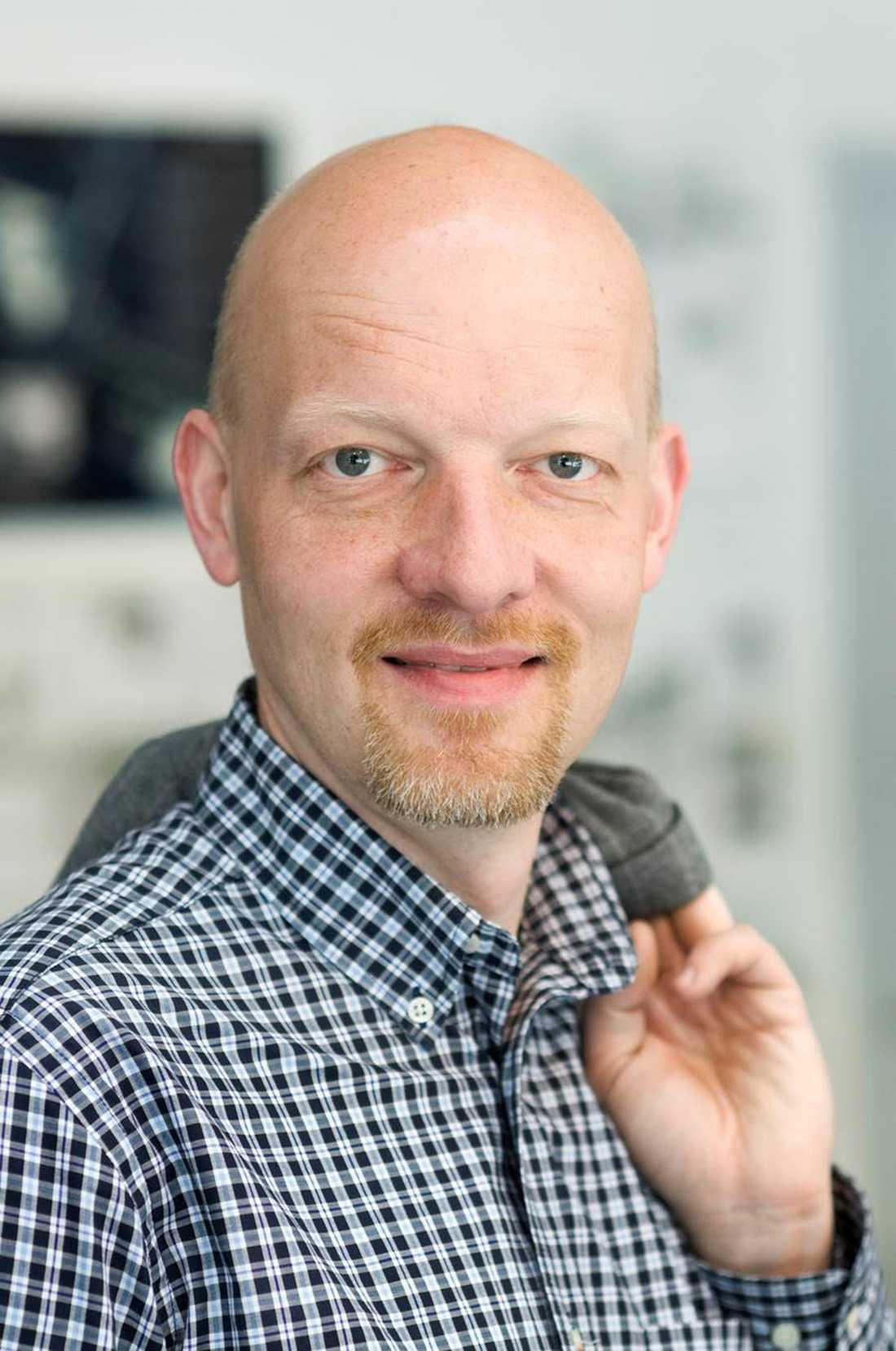 Anders Mellberg, kommunikationsdirektör Malmö stad
