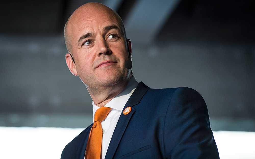 Reinfeldt under onsdagens Partiledardebatt i P1.