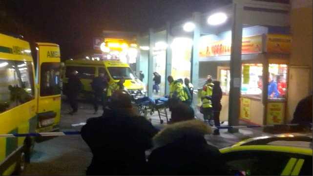 Fyra personer blev nerskjutna utanför en grillkiosk i Tensta i slutet av oktober.