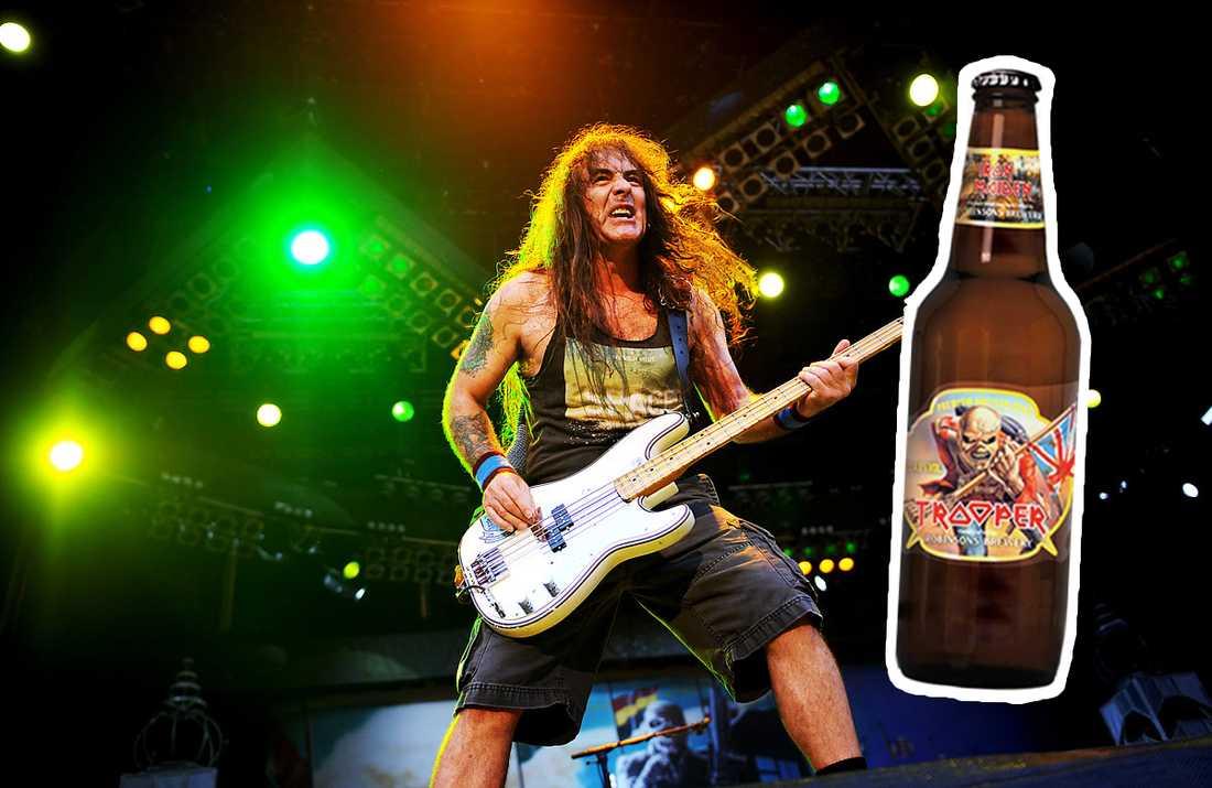 ROCKRÄVARNA STOPPAS Systembolagets jurister ser nu över hur förenlig Iron Maidens öl är med den svenska alkohollagen.