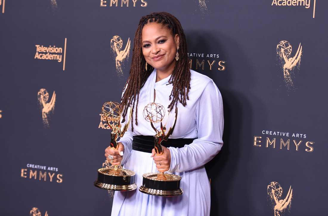 Filmregissören Ava Duvernay har vunnit priser på tillställningar som Emmy awards.