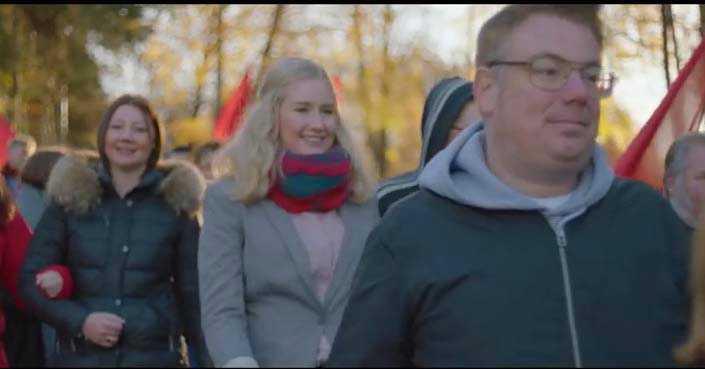LO släppte förra veckan en valfilm som väckt reaktioner för att den visar så få personer med annan bakgrund än svensk.