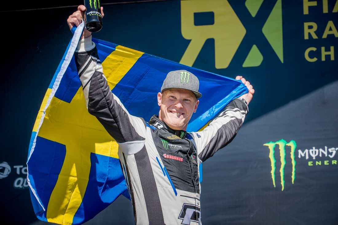 Rallycross: Johan Kristoffersson tog sjunde VM-segern i Frankrike