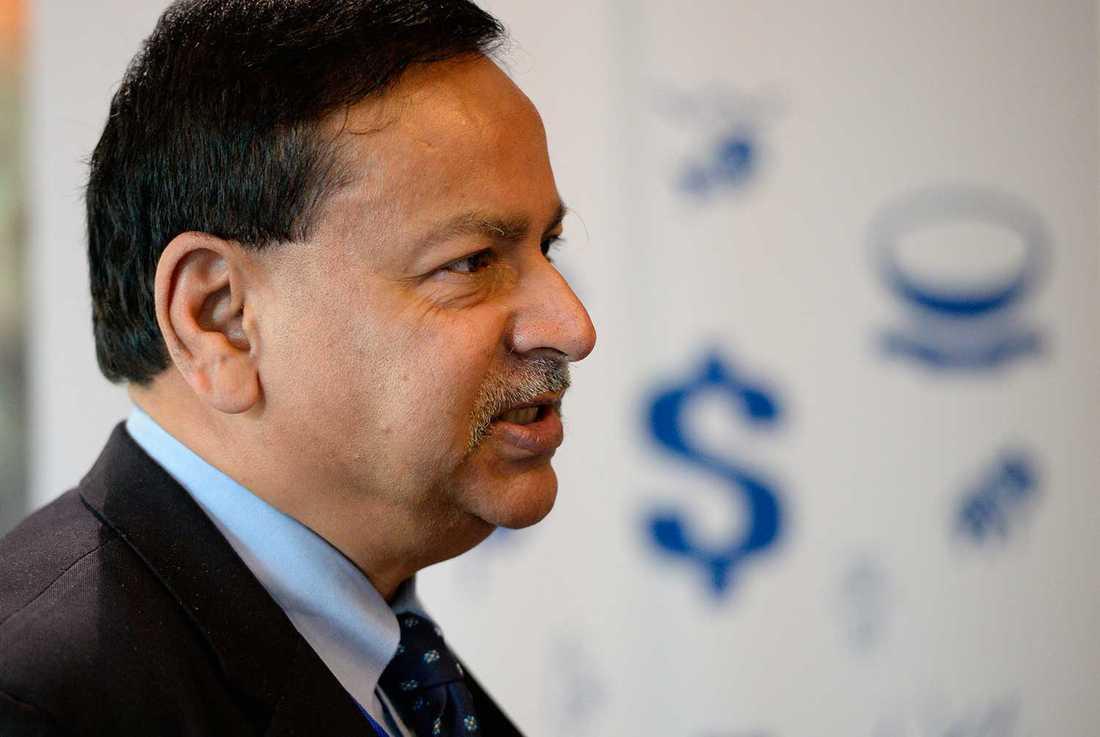 Saleemul Huq, ordförande för CVF:s expertkommitté.