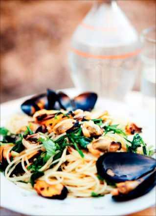 Taglioi con le cozze – en lyxig skaldjursklassiker från Italien.