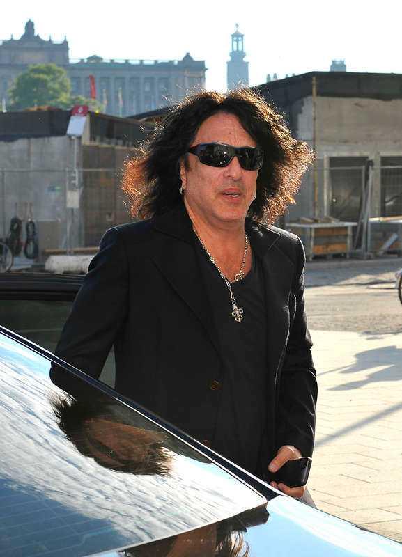 Legend  Paul Stanley, 61, på väg in till Lydmar hotel i centrala Stockholm. Han är förutom Gene Simmons den ende originalmedlemmen i Kiss.