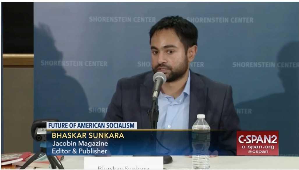 """Bhaskar Sunkara är grundare och redaktör för Jacobin magazine.  """"Socialistiska manifestet"""" är hans första bok."""