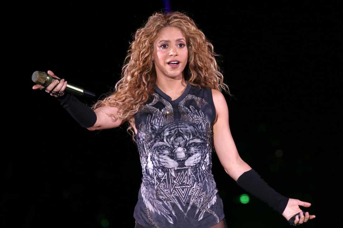 Shakira säljer rättigheterna till alla sina låtar. Arkivbild.