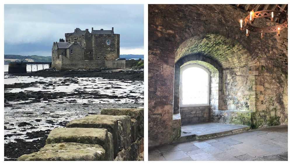 Blackness castle – Fort Williams i Outlander.